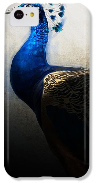 Peacock iPhone 5c Case - Peacock Portrait by Aaron Blaise