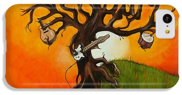 Pearl Jam Tree IPhone 5c Case by Tarah Davis