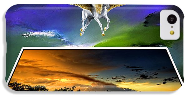 Pegasus In Flight IPhone 5c Case