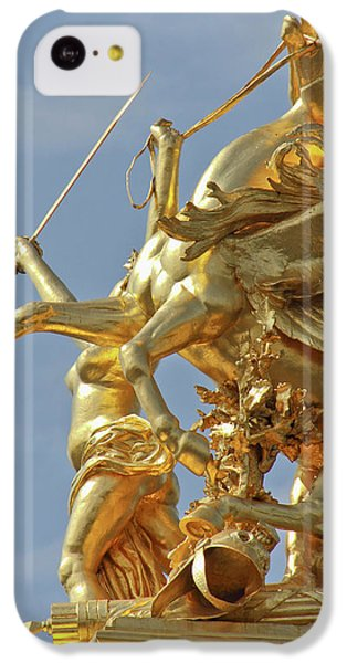 Pegasus Statue At The Pont Alexander IPhone 5c Case by William Sutton