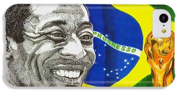 Pele IPhone 5c Case by Cory Still
