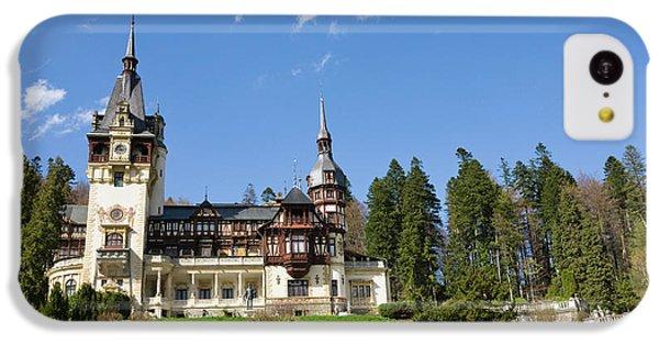 Peles Castle, Sinaia, Carpathian IPhone 5c Case by Martin Zwick