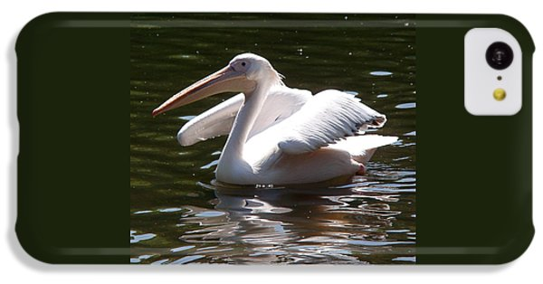 Pelican iPhone 5c Case - Pelican And Friend by Rona Black