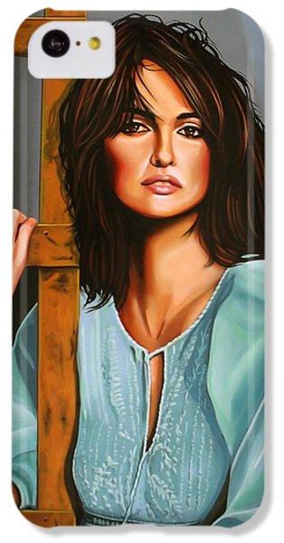 Penelope Cruz IPhone 5c Case by Paul Meijering