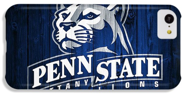 Penn State Barn Door IPhone 5c Case by Dan Sproul