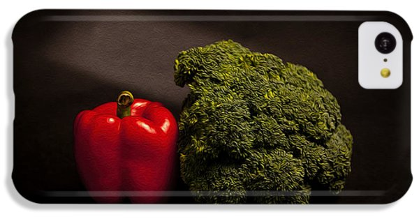 Pepper Nd Brocoli IPhone 5c Case