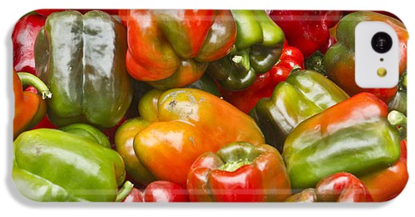 IPhone 5c Case featuring the photograph Peppers by Ricky L Jones