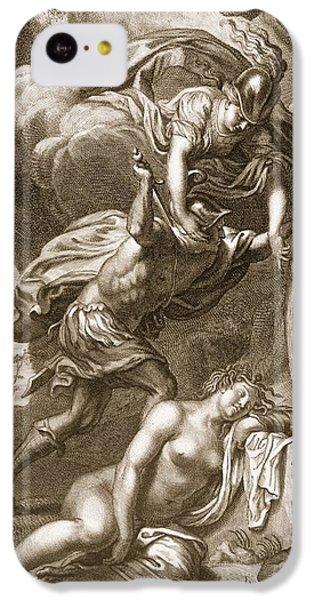 Gorgon iPhone 5c Case - Perseus Cuts Off Medusas Head, 1731 by Bernard Picart