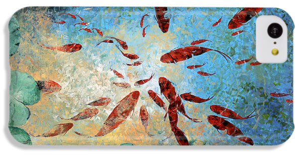 Koi Rotanti IPhone 5c Case by Guido Borelli