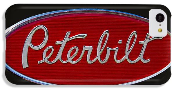 Peterbilt Semi Truck Logo Emblem IPhone 5c Case