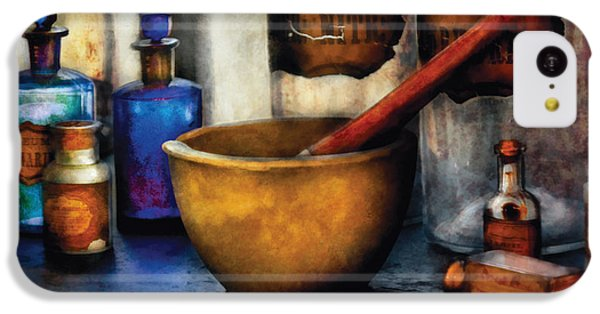 Magician iPhone 5c Case - Pharmacist - Mortar And Pestle by Mike Savad