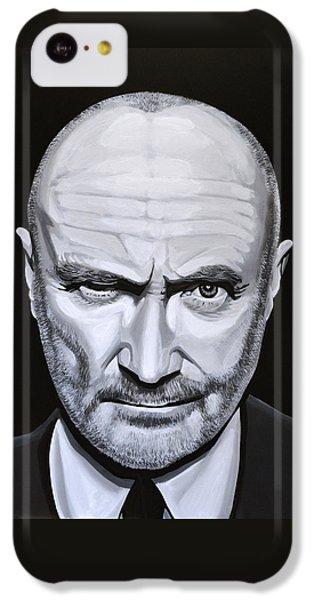 Trumpet iPhone 5c Case - Phil Collins by Paul Meijering