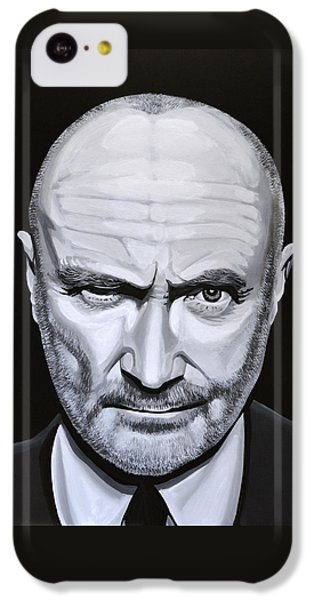Trumpet iPhone 5c Case - Phil Collins by Paul Meijering