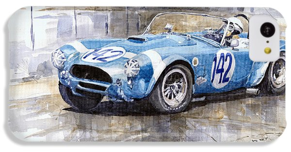 Phil Hill Ac Cobra-ford Targa Florio 1964 IPhone 5c Case by Yuriy Shevchuk