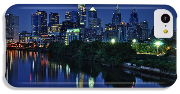 Philly Skyline IPhone 5c Case by Mark Fuller