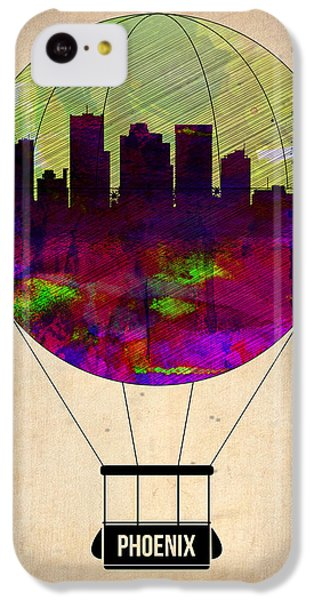 Phoenix Air Balloon  IPhone 5c Case by Naxart Studio