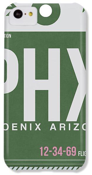 Phoenix Airport Poster 2 IPhone 5c Case by Naxart Studio