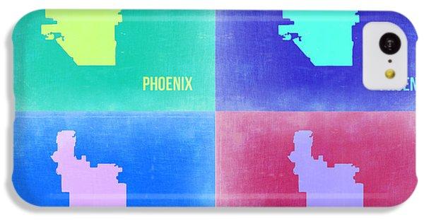 Phoenix Pop Art Map 1 IPhone 5c Case by Naxart Studio