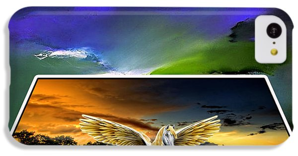 Picture A Pegasus IPhone 5c Case
