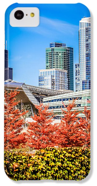 Picture Of Chicago In Autumn IPhone 5c Case by Paul Velgos