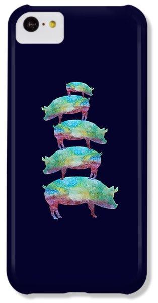 Pig Stack IPhone 5c Case