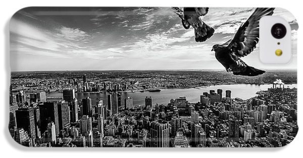 Pigeons On The Empire State Building IPhone 5c Case