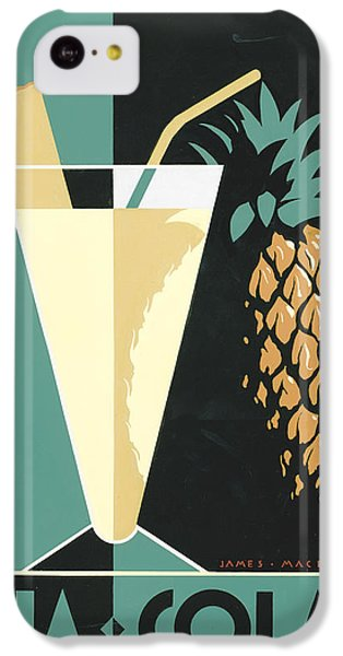 Pina Colada IPhone 5c Case by Brian James