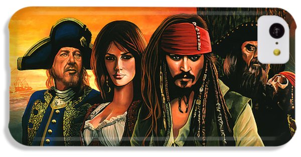 Pirates Of The Caribbean  IPhone 5c Case by Paul Meijering