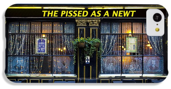 Pissed As A Newt Pub  IPhone 5c Case by David Pyatt