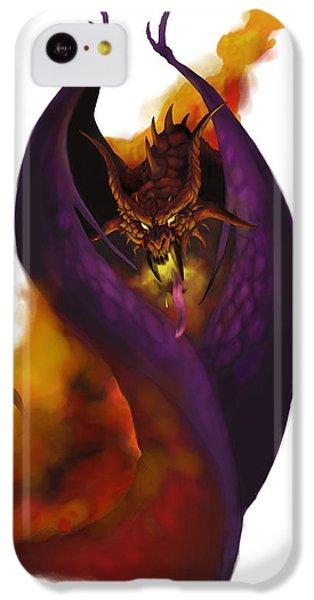 Dungeon iPhone 5c Case - Pit Fiend by Matt Kedzierski