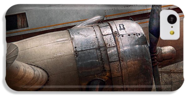 Plane - A Little Rough Around The Edges IPhone 5c Case by Mike Savad