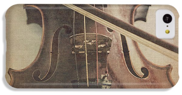 Violin iPhone 5c Case - Play A Tune by Emily Kay