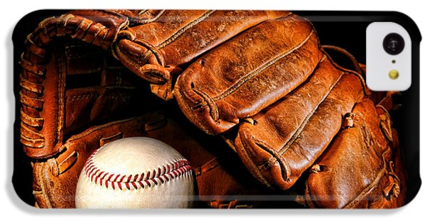 Softball iPhone 5c Case - Play Ball by Olivier Le Queinec