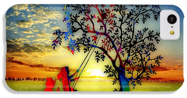 Playful At Sunset IPhone 5c Case by Marvin Blaine