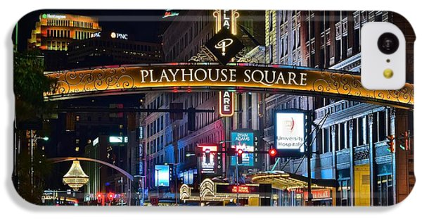 Playhouse Square IPhone 5c Case by Frozen in Time Fine Art Photography