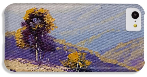 Rural Scenes iPhone 5c Case - Plein Air  Study by Graham Gercken