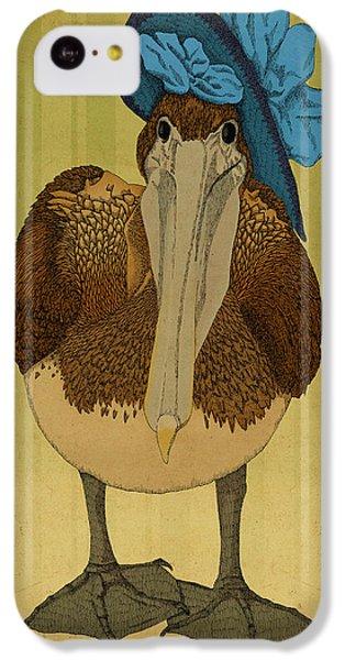 Pelican iPhone 5c Case - Plumpskin Ploshkin Pelican Jill by Meg Shearer