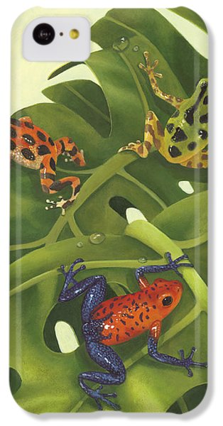 Poison Pals IPhone 5c Case by Laura Regan