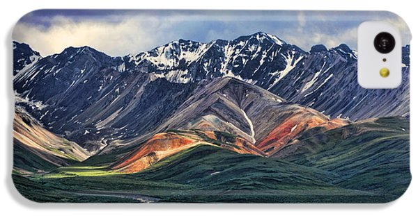 Mountain iPhone 5c Case - Polychrome by Heather Applegate