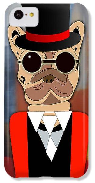 Pop Art French Bulldog IPhone 5c Case
