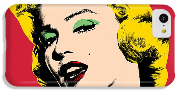 Portraits iPhone 5c Case - Pop Art by Mark Ashkenazi