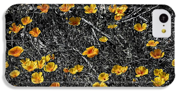 IPhone 5c Case featuring the photograph Poppyflies by Mark Myhaver