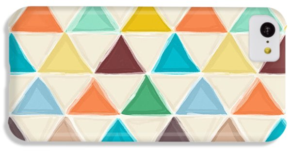 Portland Triangles IPhone 5c Case by Sharon Turner