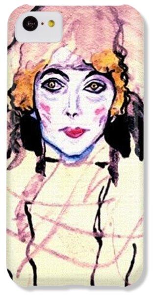 Portrait Of A Lady En Face After Gustav Klimt IPhone 5c Case