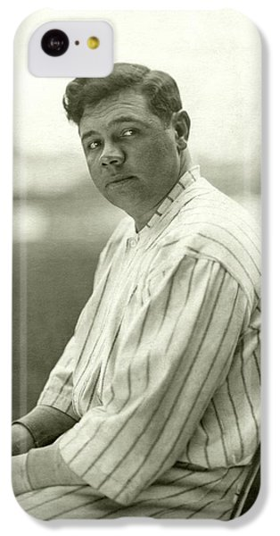 Portrait Of Babe Ruth IPhone 5c Case by Nicholas Muray