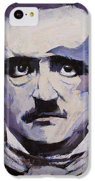 Edgar Allan Poe IPhone 5c Case by Michael Creese