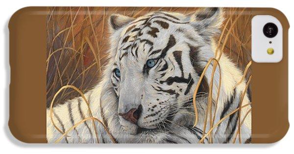 Portrait White Tiger 1 IPhone 5c Case