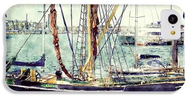 Portsmouth Harbour Boats IPhone 5c Case