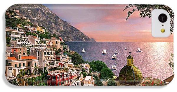 Positano IPhone 5c Case by Dominic Davison