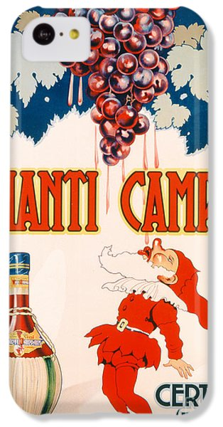 Poster Advertising Chianti Campani IPhone 5c Case by Necchi